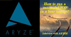 How to run a successful ICO in a bear market: interview with ARYZE