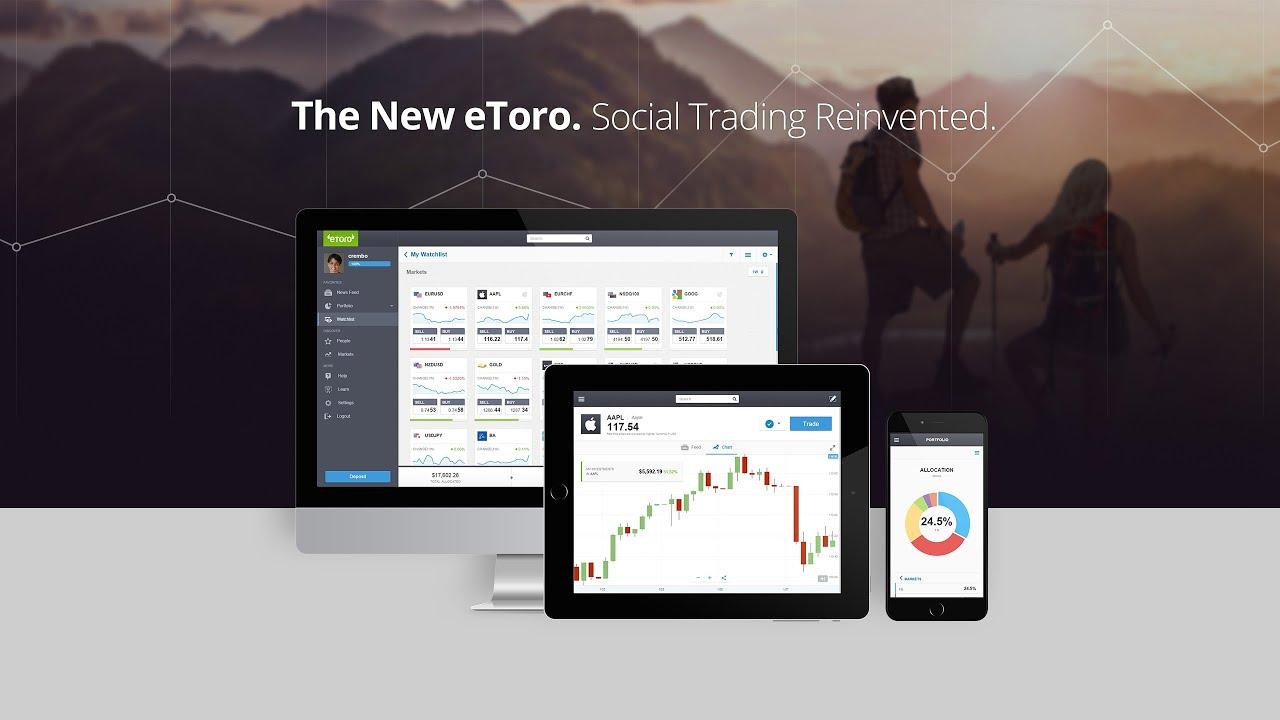 Trading platforms review - eToro – Coinisseur